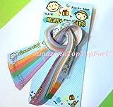 Sanrio Minna No Tabo Lucky Wish Star Origami Star Paper Folding Star 60 pcs 6 Colors