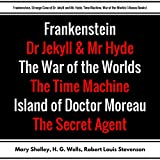 Frankenstein, Strange Case of Dr. Jekyll and Mr. Hyde, Time Machine, War of the Worlds: Plus Bonus Books