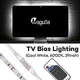 TV Bias Lighting, Megulla USB LED Light Strip with Wireless RF Remote