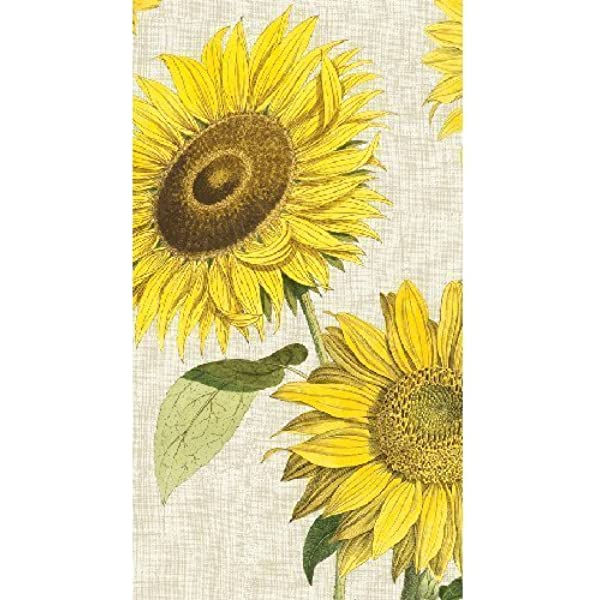 Amazon Com Hand Towels Or Paper Guest Towels Sunflower Under The Sun 30 Count Chic Party Supplies Decorations Health Personal Care