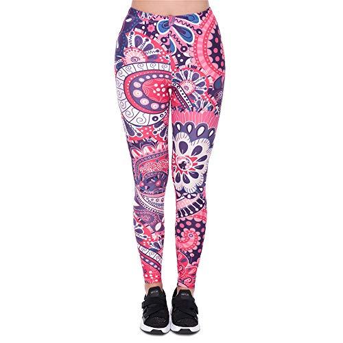 punti yoga Lybtrouser donna Pantaloni 3d stampati nove fitness di alta vestiti elasticizzazione da leggings 5 d0OA1Eqwr0