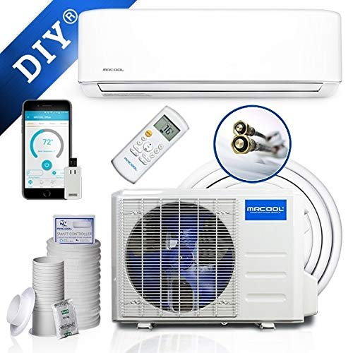 MRCOOL Comfort Made Simple MRCOOL DIY 18,000 BTU Ductless Mini Split Air Conditioner and Heat Pump System with Wireless-Enabled Smart Controller; Works with Alexa, Google or App; 230V AC ()