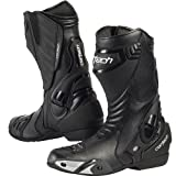 Cortech Latigo Air Men's Street Bike Motorcycle Boots - Black/Black / Size 12.5
