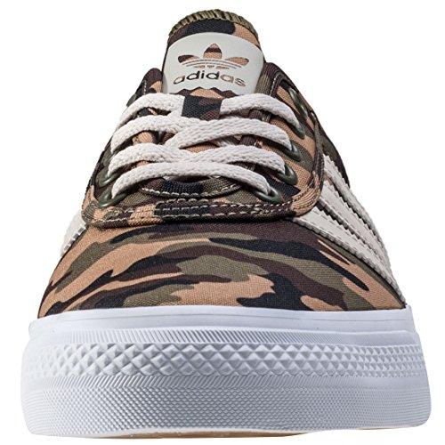 adidas Adi-Ease, Zapatillas de Skateboarding Unisex Adulto braun grün weiß