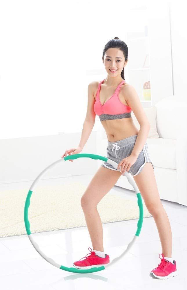 Chinesisches Rot GGZZLL Reifen,Hula-Hoop Mit Hula-Hoop-Reifen F/ür Anf/änger Aus Weichem Gummi-Elternteil Und Kind Mit Abnehmbarem Massage-Hula-Hoop-Tanz
