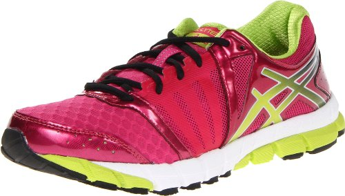 ASICS Women's GEL-Lyte33 2 Running Shoe,Raspberry/Lime/White,6 M US