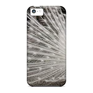 New Arrival Beautiful White Peacock NXOWPdt986innEJ Case Cover/ 5c Iphone Case