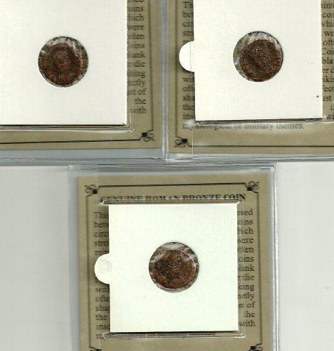 UNO - AUTÉNTICO ANTIGUO ROMANO DE Bronce. 1700 años de edad. VARIA CALIDAD