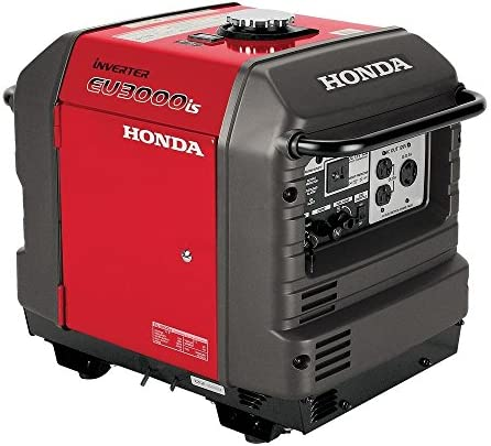 Honda EU3000iS, 2800 Running Watts 3000 Starting Watts, Gas Powered, Portable Inverter