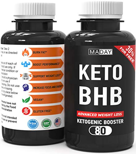 Keto Burn Weight Loss Pills | Keto Pills Fat Burners for Women and Fat Burners for Men | Keto Supplements for Ketosis and Keto Fat Burner Pills, Keto Pills Diet | 80 Capsules
