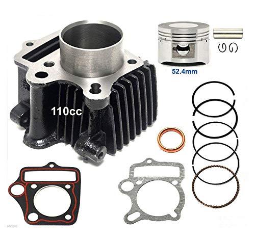 (110cc Cylinder kit Piston Rings set compatible with TaoTao: BoulderB1, ATA 110 D/D1, ATA 125 D, ATA 125 F1, DB 14, DB 10, ATK 125 A, Jeep Auto, ATA 110)