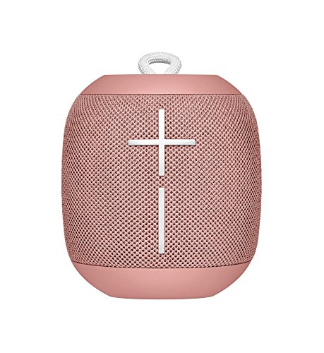 Ultimate Ears WONDERBOOM Waterproof Super Portable Bluetooth Speaker - IPX7 Waterproof - 10-hour Battery Life - Cashmere Pink (Renewed)
