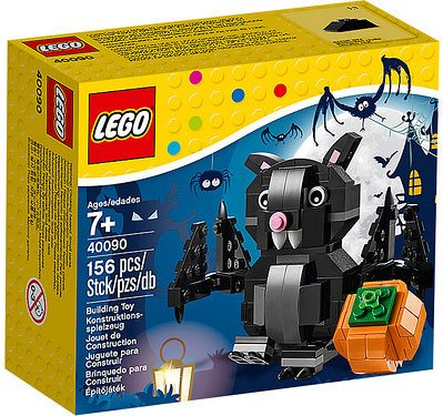 Lego Halloween set Bat & Pumpkin 40090