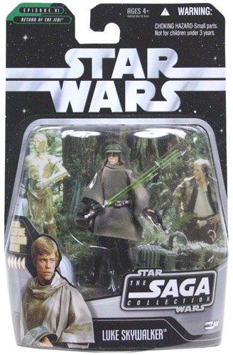 Saga Collection Luke Skywalker - Star Wars - The Saga Collection Basic Figure Luke Endor