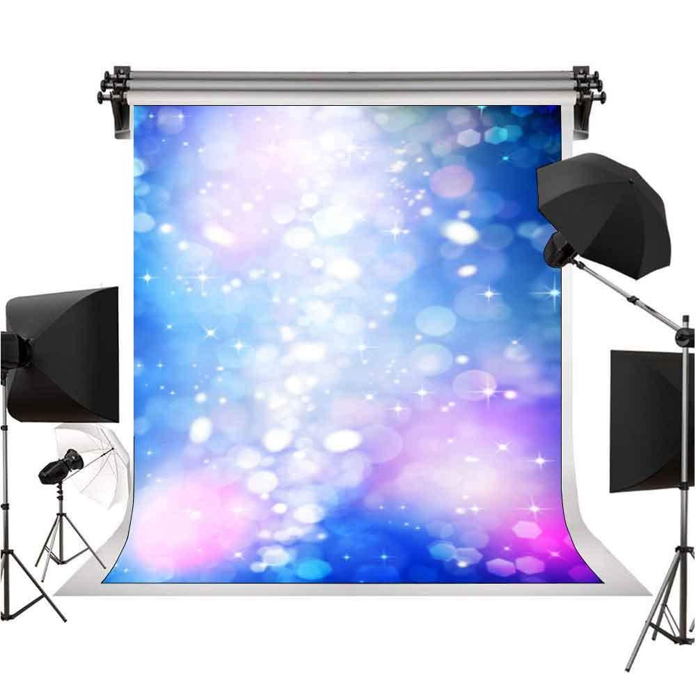 ロマンチックなパープルグリッターの背景 写真撮影用背景幕 ファッションパーティー背景 写真装飾 9x6フィート STS LXST424   B07MP1W4GM