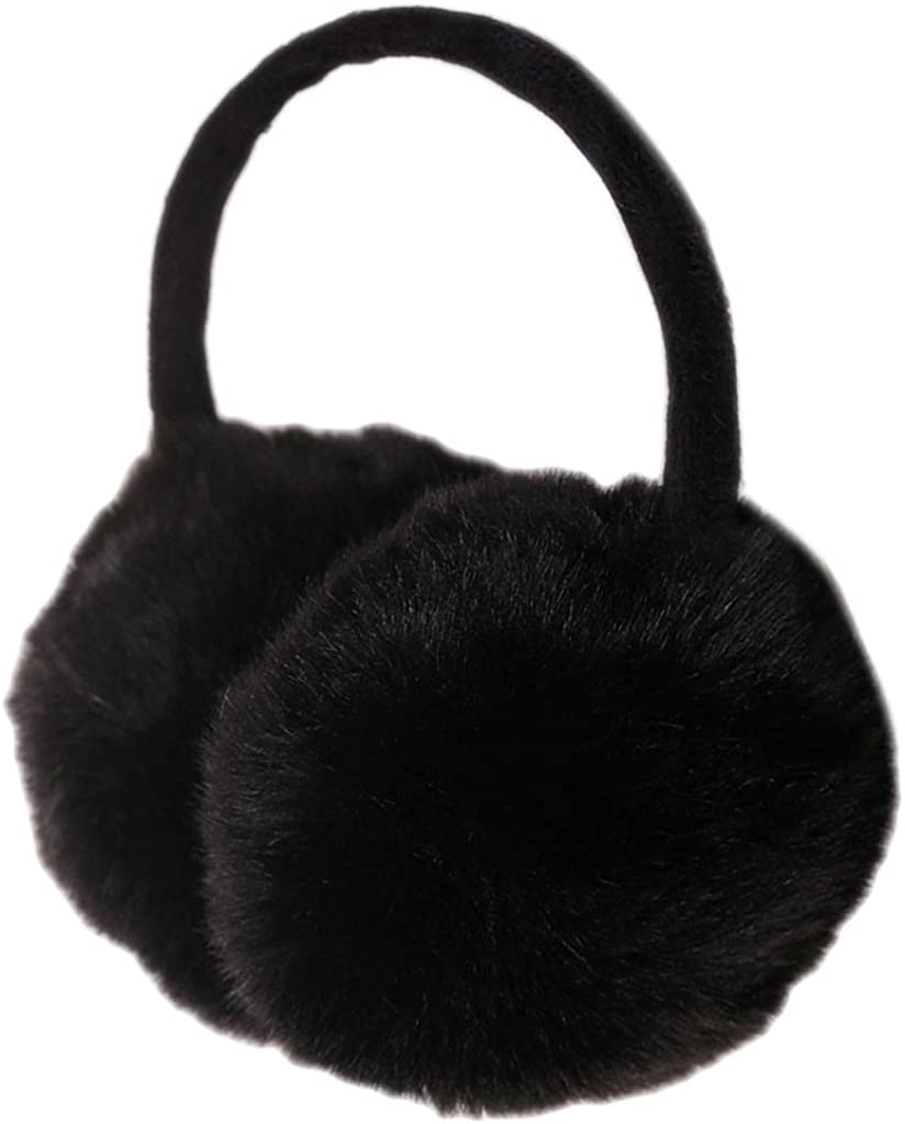 Viesky Black Friday Winter Warm Windproof Imitation Rabbit Woolen Ear Muffs For Women//Girl//Kid
