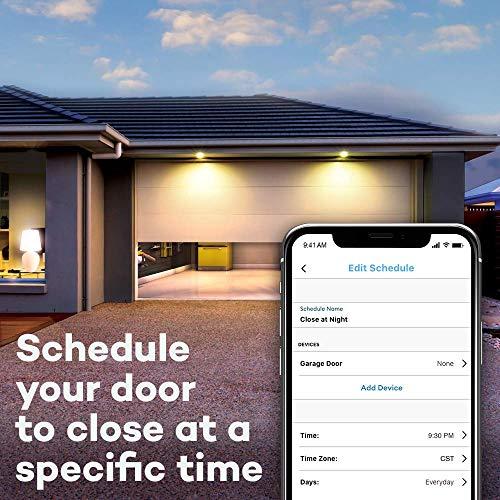 Chamberlain Hub MYQ-G0301 &ndash Upgrade Your Existing Garage Door Opener with MyQ Smart Phone Control, black