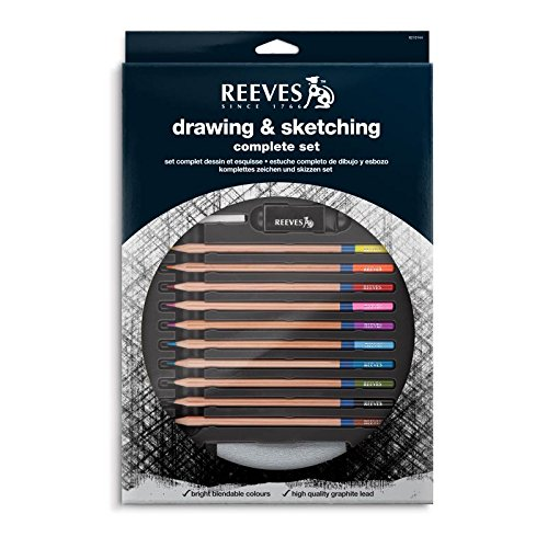Winsor & Newton Reeves Drawing & Sketching Complete Set -