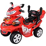 Kids Ride On ATV Quad 4 Wheeler Electric Toy Car 6V Battery Power, Red