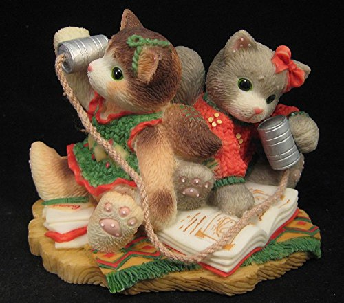 Calico Kittens Chatty Catty Figurine