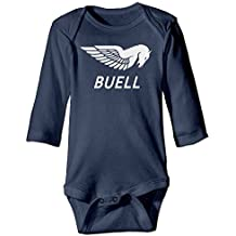 Buell Motorcycles Logo Baby Long Sleeve Lap Shoulder Bodysuits