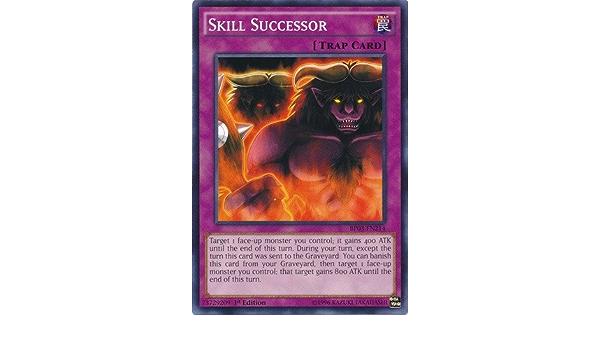 SKILL SUCCESSOR BP03-EN214-1st EDITION YU-GI-OH