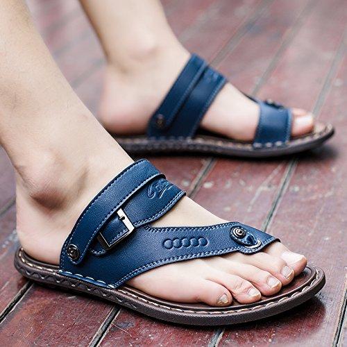 Sandalias Moda Verano De RB617 De Hombres Zapatillas Sandalias blue Desgaste Sandals Sandalias Chanclas 1nFT5
