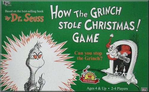 How the Grinch Stole Christmas Game by University Games