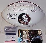 Jameis Winston Autographed Hand Signed FSU Florida State Seminoles Full Size Logo Football - with 2013 Heisman inscription - PSA/DNA
