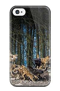 Austin B. Jacobsen's Shop wolves animals animal wolf dog dogs predator Anime Pop Culture Hard Plastic iPhone 4/4s cases