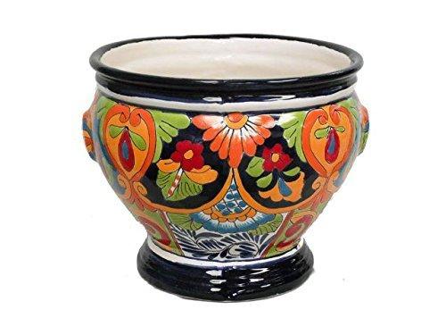 Ceramic Talavera Planter (TALAVERA COPA PLANTER (LARGE) (TALAVERA))