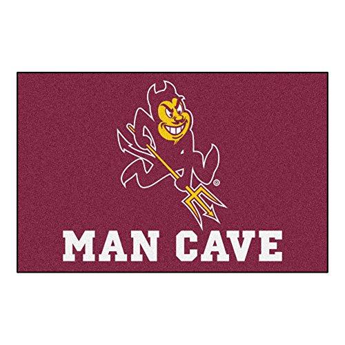 State Arizona Tailgater Rug (Arizona State University Sun Devils Man Cave Area Rug (Tailgater))