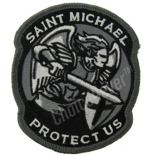 choice4ever-tactical-gear-monkey-st-michael-modern-embroidery-patches-black-swat