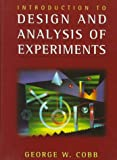 Design and Analysis of Experiments, Cobb, George W., 0387946071