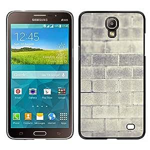 Stuss Case / Funda Carcasa protectora - Brick Wall Grey Architecture Building House - Samsung Galaxy Mega 2