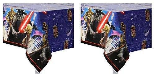 Star Wars Plastic Table Cover  Pack of 2]()