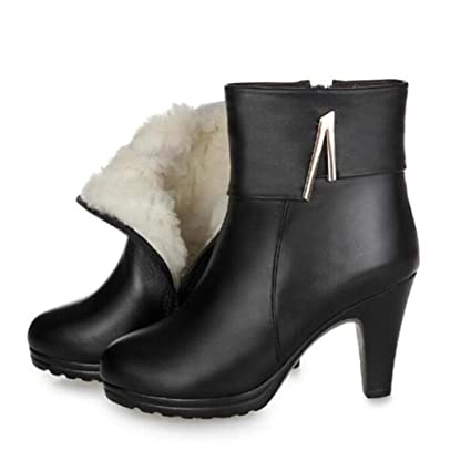 121dbc3d95a4d Amazon.com: Kyle Walsh Pa Women Shoes Winter Ankle Boots New Genuine ...