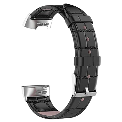 fuchsiaan For Fitbit Charge 3 Waterproof Durable Faux
