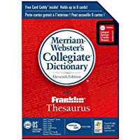 Palm Merriam-Webster8217;s Collegiate Dictionary and Franklin Thesaurus (P10935U)