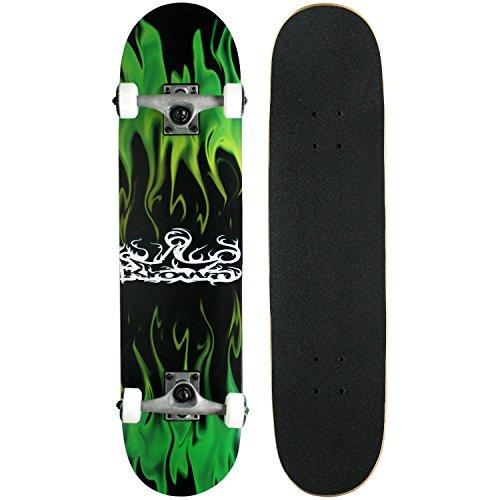 krown-rookie-complete-skateboardgreen-flame