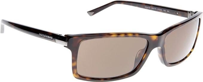 Amazon.com: Dolce & Gabbana D & G DG anteojos de sol DG 4122 ...