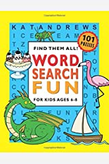 Word Search Fun for Kids Ages 6-8 Paperback