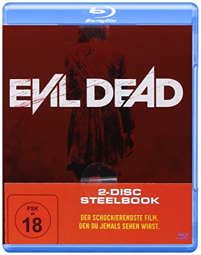 Evil Dead-Steelbook Cut Version-2 Discs [Blu-ray]
