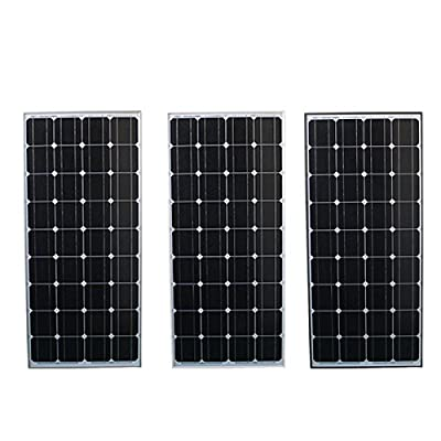 New Elfeland SM-100M 1200x540x30mm 100W Solar Panel For 12V Battery 5M Cable Motorhome Caravan Boat Camp Hiking By koko