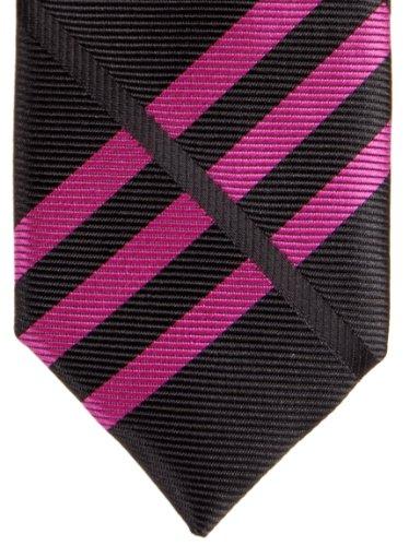 Various Exquisite Retreez Skinny Plaid Woven Microfiber Colors Check Black Tie 0BngH0q