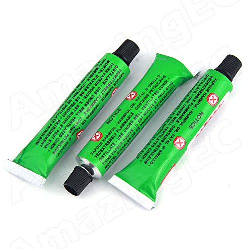20cc Rubber Glue for Tire Puncture Repair, Bicycle Tube Patching Cycling Tools Lot Pack of 3pcs (Bike Tire Repair Glue compare prices)