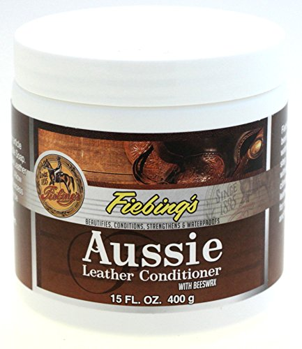 Fiebings Aussie Leather Conditioner With Beeswax Waterproof 15 OZ