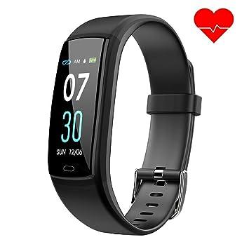 Montre Connectée Bracelet Connecté Fitness Tracker dActivité, Compteur de Calories, Podomètre,