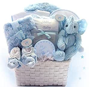 Amazon welcome home baby gift basket gifts for the new mom welcome home baby gift basket negle Choice Image