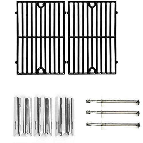 Replacement Kit For Vermont Castings VM400XBP, 50000835, 50003100, VM400, CF9030, VM400XBP, Gas Grill Models Includes Burners, Heat Shields & Cooking Grates ()